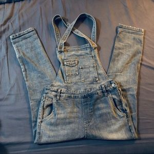 Free People Slim Ankle Overall 27
